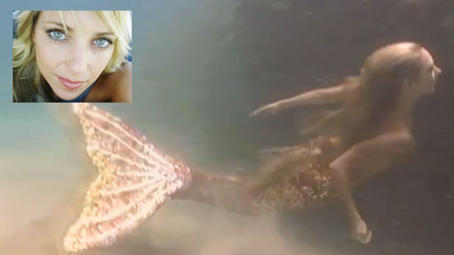 PHOTO:Are mermaids the next big trend? Professional mermaid Hannah Fraser thinks so.