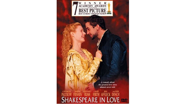 PHOTO: The cover of 'Shakespeare In Love'.