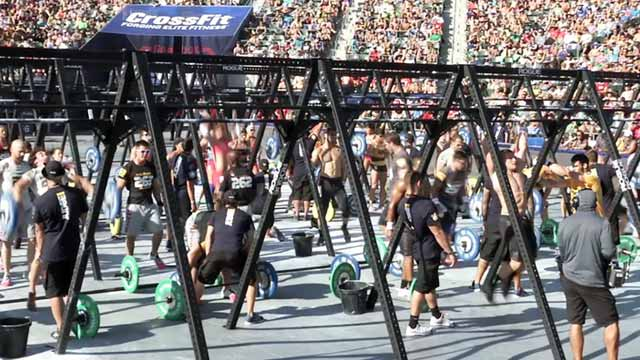 PHOTO: Hundreds Meet at CrossFit Games in Los Angeles, California.