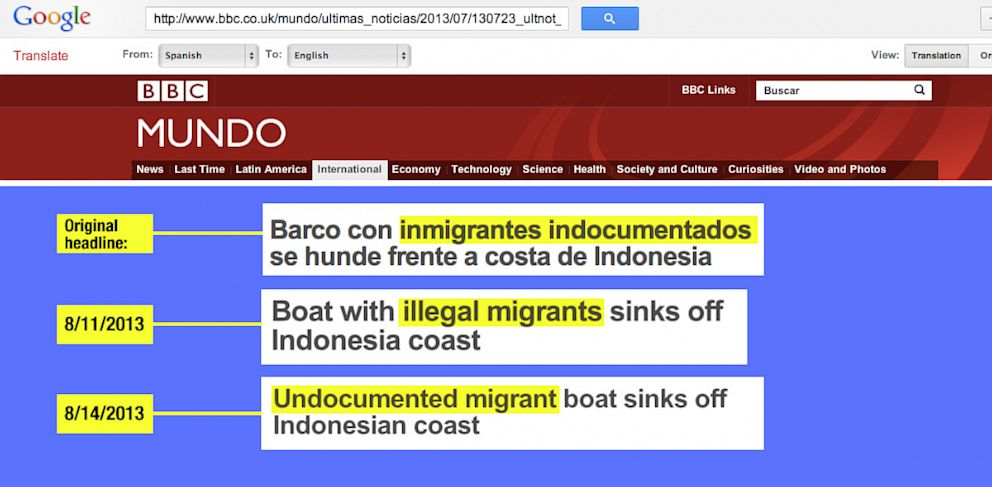 PHOTO: Google Translate Finally Gets Undocumented Right
