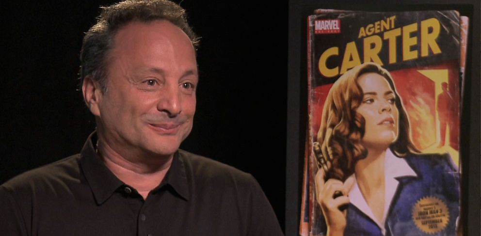 PHOTO: Marvel Studios Co-President Louis DEsposito talks about Iron Man 3 DVD release and a possible Iron Man 4.