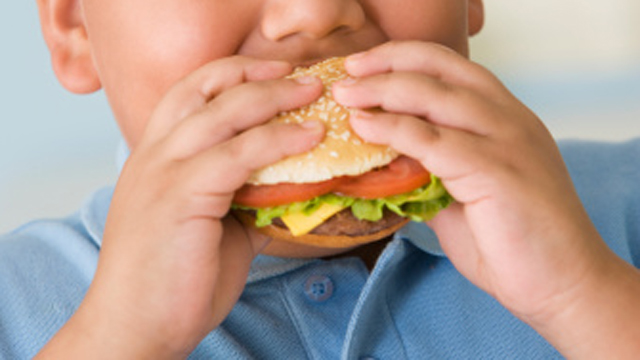 PHOTO:A new study shows a slight decline in childhood obesity.