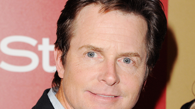 PHOTO:BEVERLY HILLS, CA - JANUARY 13: Actor Michael J. Fox arrives at the InStyle And Warner Bros. Golden Globe Party at The Beverly Hilton Hotel on January 13, 2013 in Beverly Hills, California.