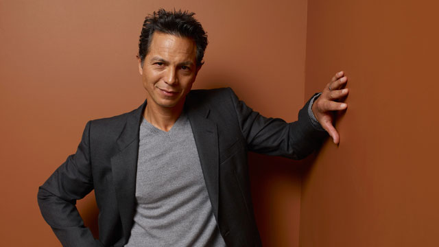 PHOTO: Actor Benjamin Bratt poses at the Guess Portrait Studio during the 2012 Toronto International Film Festival on September 9, 2012 in Toronto, Canada.
