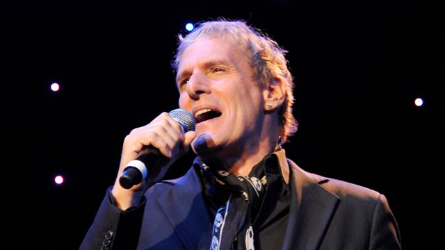 PHOTO:Michael Bolton can teach us how to live. And how to love.