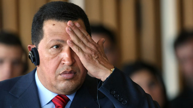 PHOTO:Hugo Chavez had a few theories to share.
