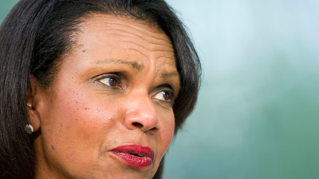 PHOTO:Chavez was not a fan of Condoleezza Rice.