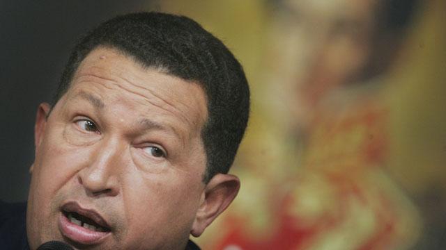 PHOTO:Hugo Chavez