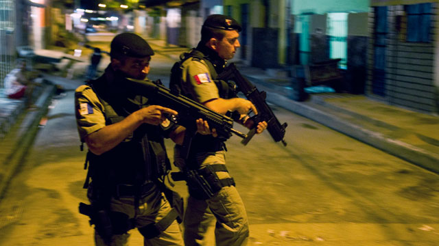 PHOTO:Maceio, Brazil, which murder rate raised 184,7 percent in the last ten years according to an official report, has turned into Brazil's capital of homicide due to an increase in crack consumption and the high poverty rate.