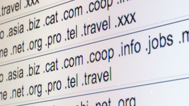 PHOTO:Top-level domains are listed on the Internet Corporation for Assigned Names and Numbers