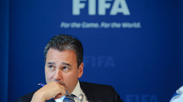 PHOTO:Michael J Garcia, Chairman of the investigatory chamber of the FIFA Ethics Committee.