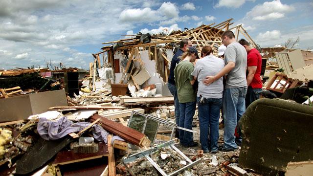 Homes Destroyed Natural Disasters Tornado