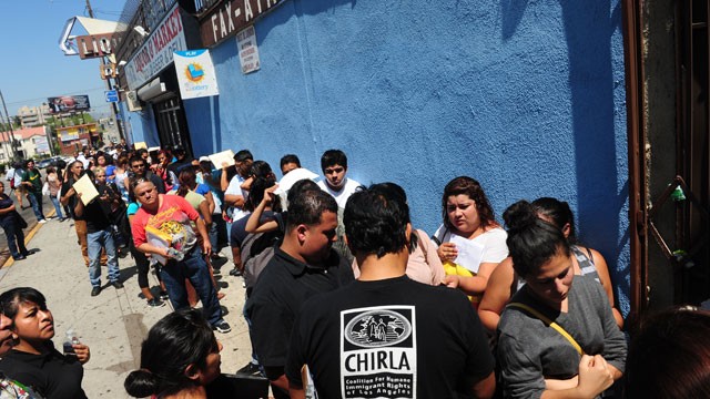PHOTO:The majority of residents in Los Angeles County will be native Californians by the end of the year.