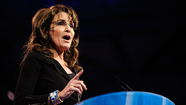 PHOTO: Sarah Palin, former Governor of Alaska, speaks at the 2013 Conservative Political Action Conference (CPAC) March 16, 2013 in National Harbor, Maryland.