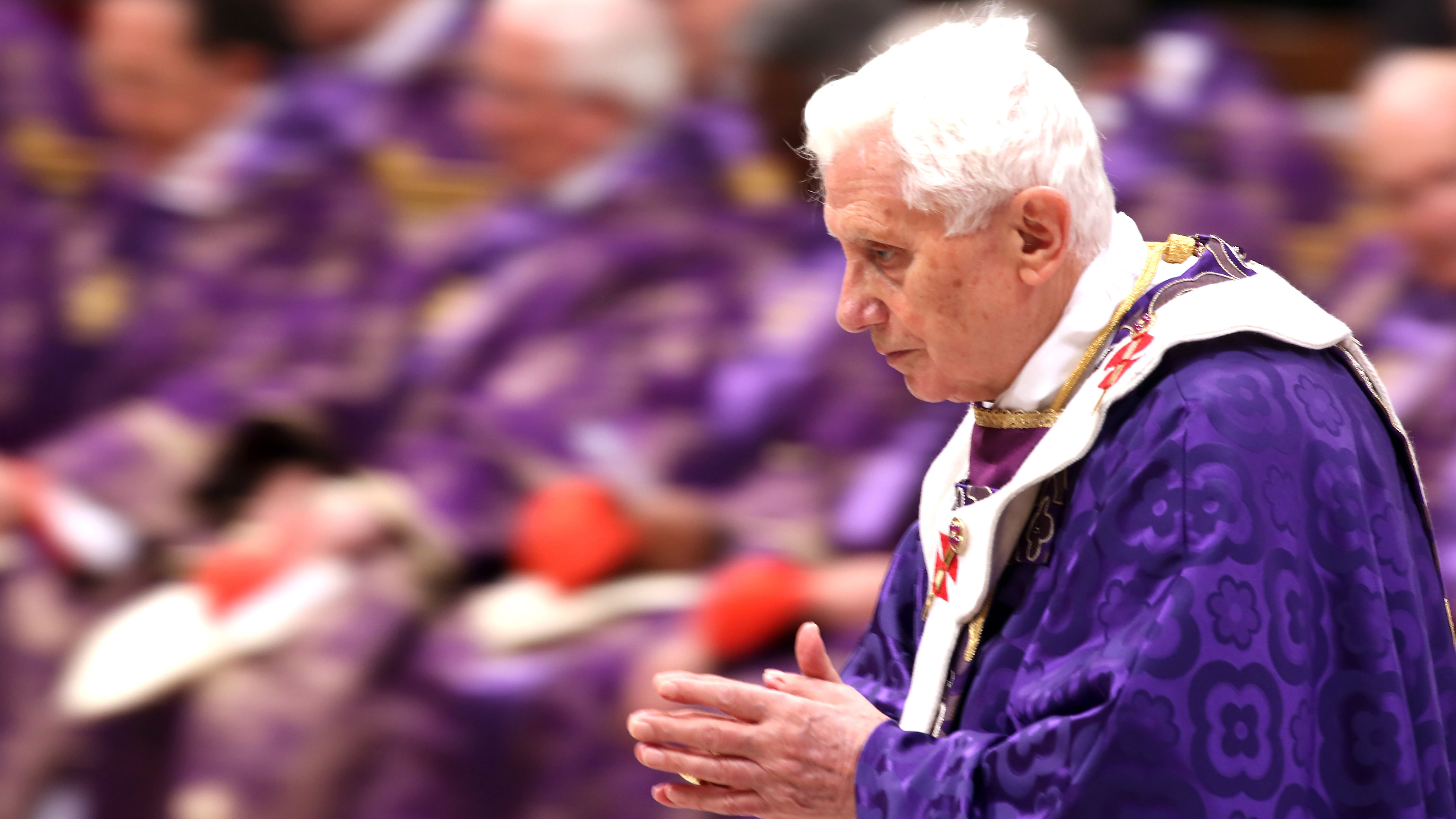 PHOTO:The Vatican maintains that advanced age caused Benedict to step down, but some insist his health is failing.