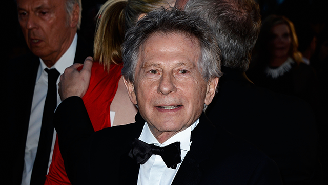 PHOTO: Director Roman Polanski leaves the 'La Venus A La Fourrure' premiere during The 66th Annual Cannes Film Festival at Theatre Lumiere on May 25, 2013 in Cannes, France.