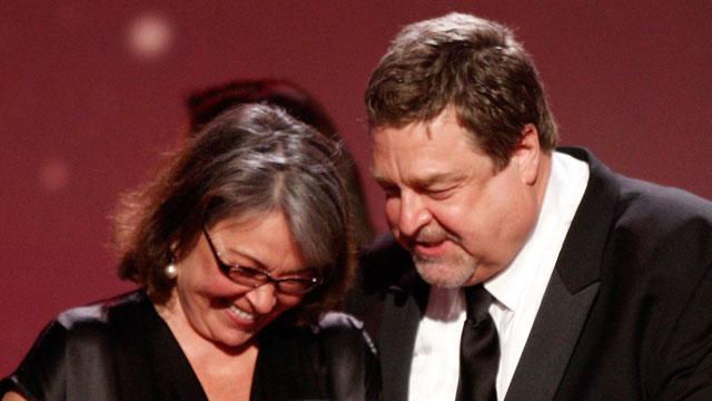 PHOTO:Roseanne Barr and John Goodman