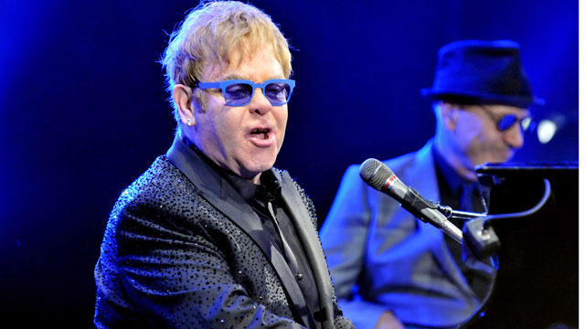 PHOTO:Elton John performing during the 2013 Carnegie Hall Medal of Excellence Gala on June 13, 2013 in NYC.