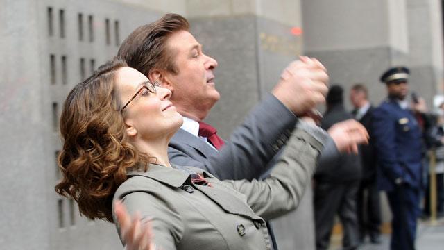 PHOTO:Tina Fey and Alec Baldwin