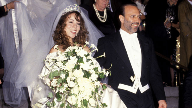 Image result for Mariah Carey and Tommy Mottola wedding