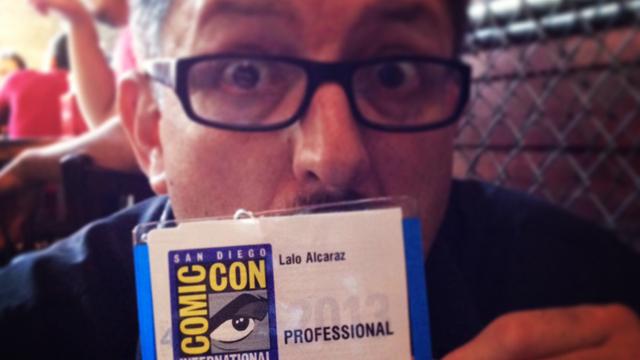 """PHOTO:Comic book and Comic-Con veteran Lalo Alcaraz is a """"professional."""""""