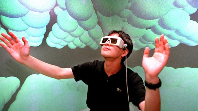 PHOTO:A carbon molecule simulator in Tokyo.