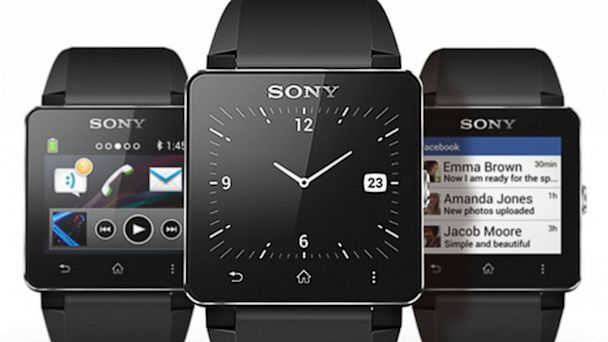 PHOTO: Sony Smartwatch 2