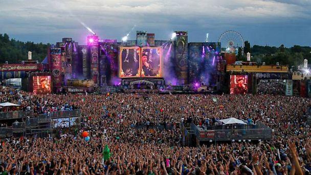 PHOTO: TomorrowWorld festival grounds