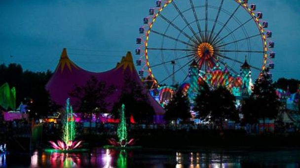PHOTO: TomorrowWorld Festival fairgrounds