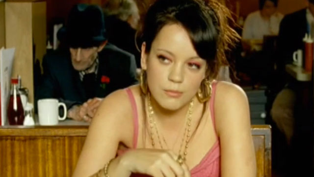 """PHOTO:Screenshot from Lily Allen's """"Smile"""" music video."""
