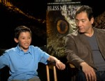 PHOTO:Luke Ganalon and Benito Martinez discuss the film adapted from renowned chicano book.