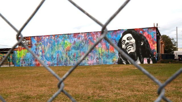PHOTO: Street art in Miamis Wynwood district.