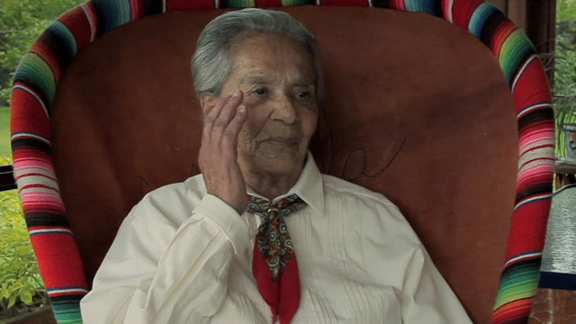 PHOTO:Chavela Vargas in the documentary Hecho En Mexico.
