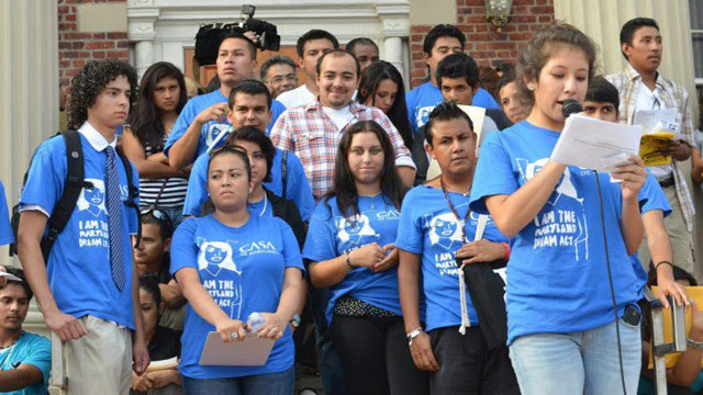 PHOTO:A program giving deportation relief to young undocumented immigrants was first announced on June 15, 2012.