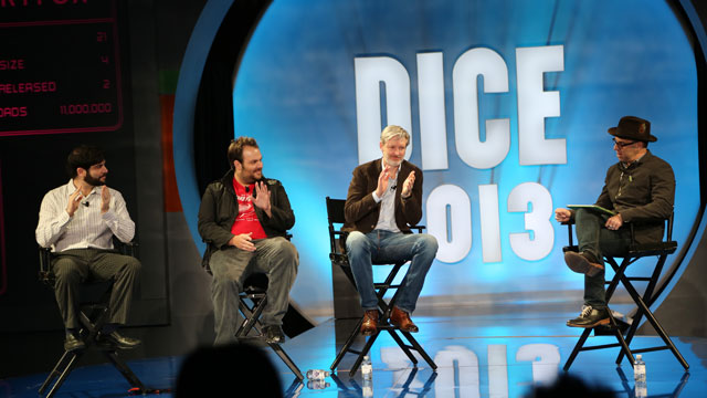 PHOTO:D.I.C.E. 2013 panel on mobile games.