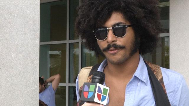 PHOTO:Florida International University Students, Like Keysel Belaez, Speak Out About The Upcoming 2012 Elections.