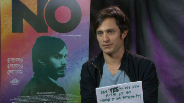 PHOTO: Gael Garcia Bernal talks about his new movie No.