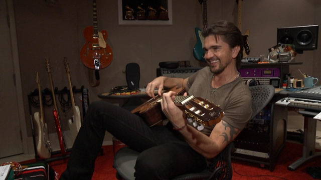 PHOTO: Juanes at his home in Miami, Florida.