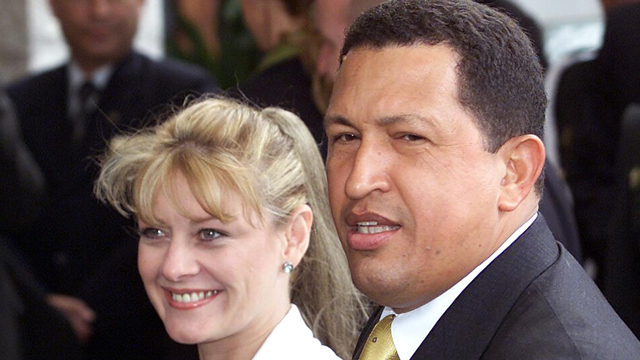 PHOTO: Marisabel Rodriguez was a local reporter from Barquismeto, Venezuela when she met Chávez in 1996. They separated in 2002.