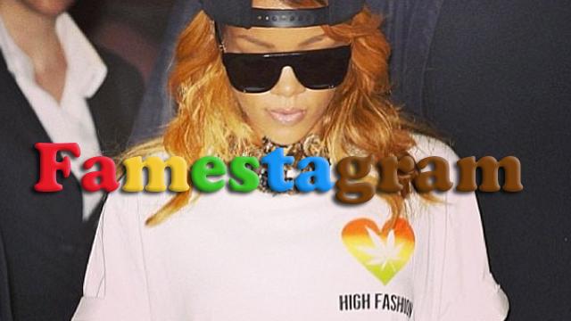PHOTO:Rihanna shows off her love for marijuana through Instagram.