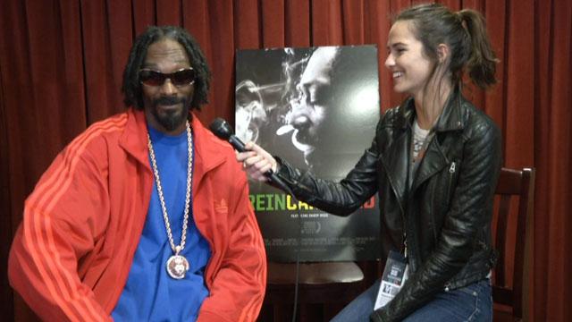 "PHOTO:Snoop Lion talks to us about ""Reincarnation""."