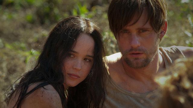 PHOTO:Ellen Page and Alexander Skarsgard star in 'The East', premiering at Sundance 2013