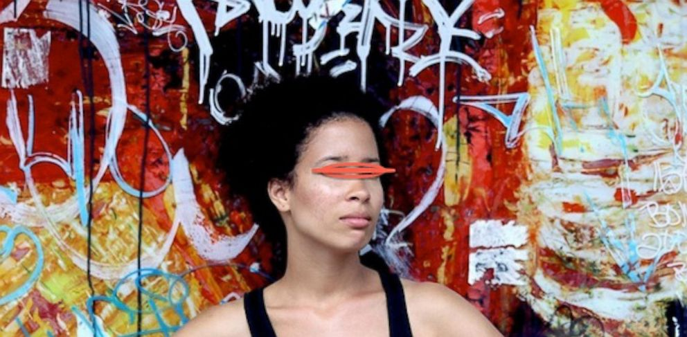 PHOTO: Leslie Jimenez is a Dominican artist who lives and works in New York City. Her work is featured in the P-Squared Gallery.