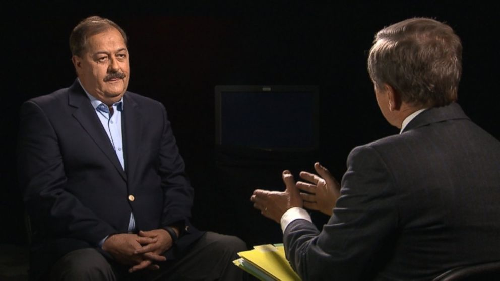 West Virginia coal boss Don Blankenship sits down with ABC News' Chief Investigative Correspondent Brian Ross.