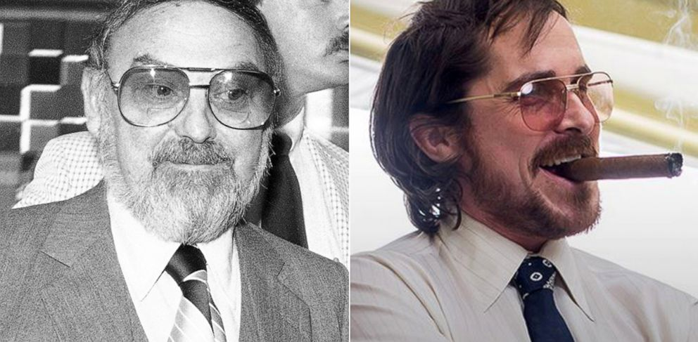 """PHOTO: In Oscar-nominated """"American Hustle,"""" Christian Bale plays a character based on real-life Mel Weinberg, a central figure in the FBIs Abscam operation."""