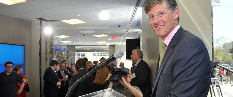PHOTO: Michael Corbat the CEO of Citigroup Inc., at Citibanks newest branch location in Washington