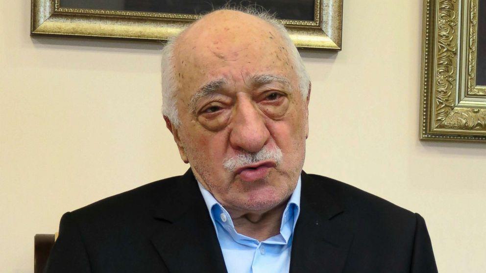 Turkish Preacher Fethullah Gulen speaks during a group interview on July 17, 2016 in Saylorsburg, Pennsylvania.