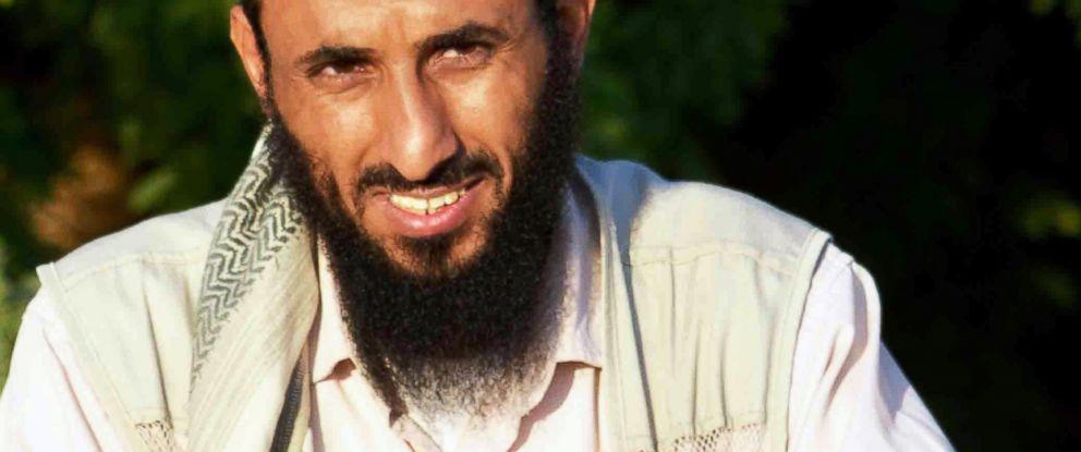 PHOTO: In this April 28, 2012, file photo, Al-Qaeda in the Arabian Peninsula (AQAP) Chief Nasir al-Wahishi is pictured in Jaar, Yemen.