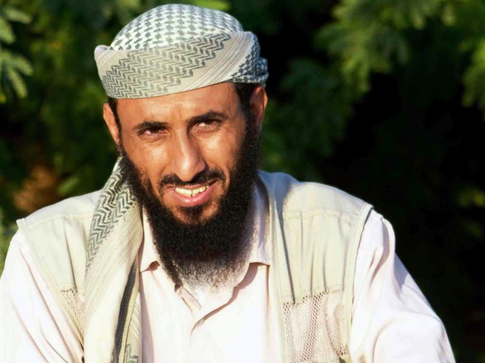 PHOTO: In this April 28, 2012, file photo, Al-Qaeda in the Arabian Peninsula (AQAP) Chief Nasir al-Washiri is pictured in Jaar, Yemen.