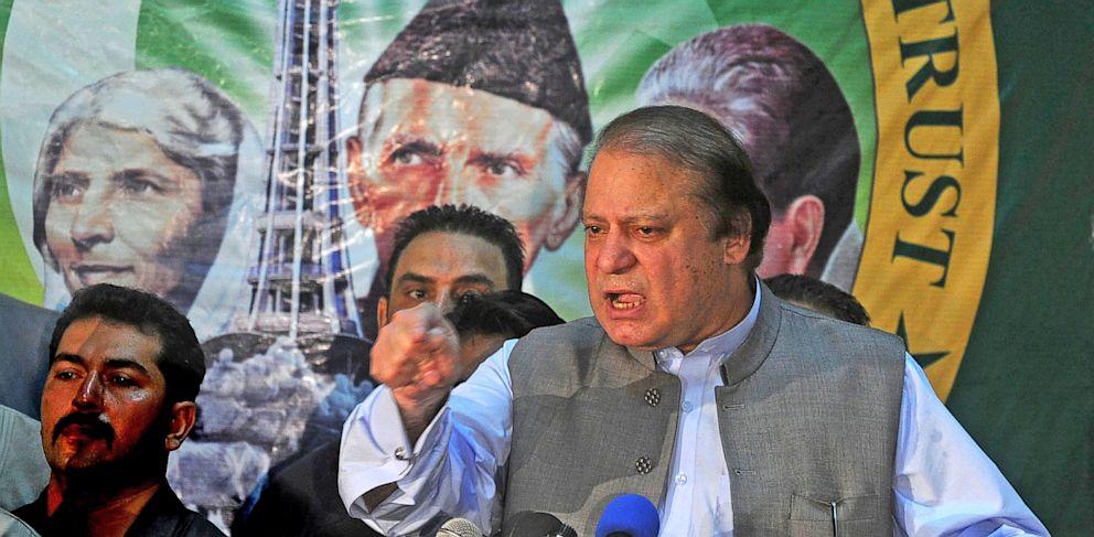 PHOTO: Pakistans incoming Prime Minister Nawaz Sharif